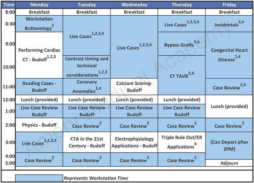 AMA: Curriculum: Cardiac CTA Training Courses Level 2 & Level 3